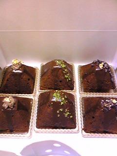 チョコレートとマロンのパウンドケーキ