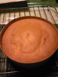 真夜中のケーキ作り