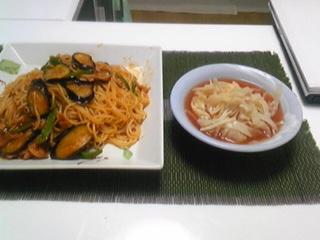 トマト味な夕飯