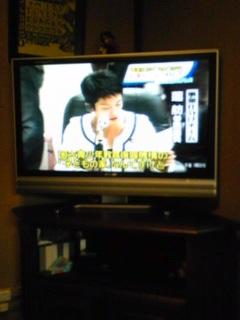 わが家にテレビがやってきた